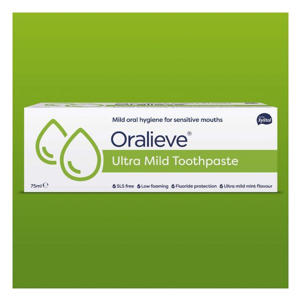 Oralieve Ultra-Mild Toothpaste 75ml
